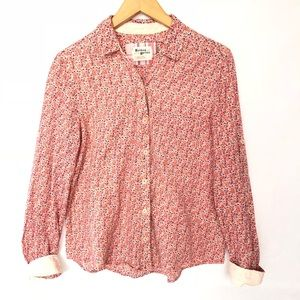 Anthropologie Holding Horses Top Shirt Floral S